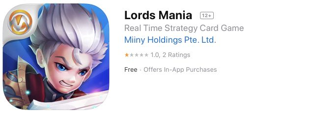 Lords Mania hack