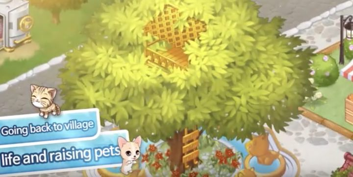 My Pet Village hack month card