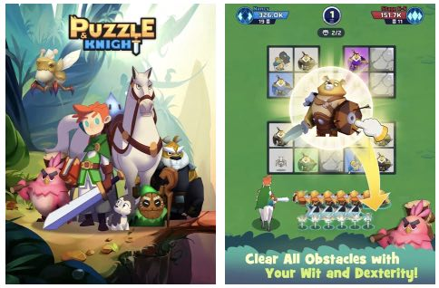 Puzzle & Knight hack