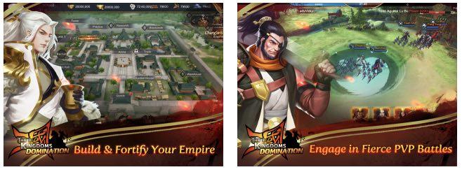 Three Kingdoms Domination tips