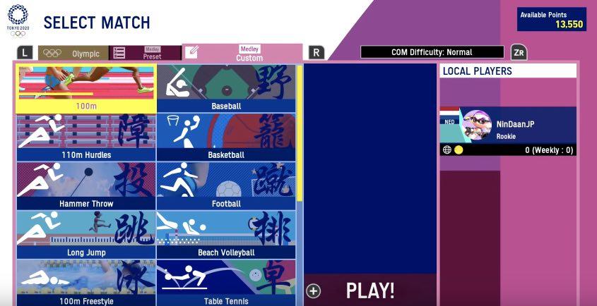 Tokyo 2020 Olympics Games hack