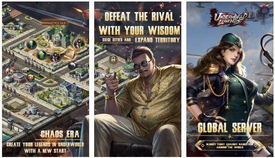 Underworld Legends hack month card