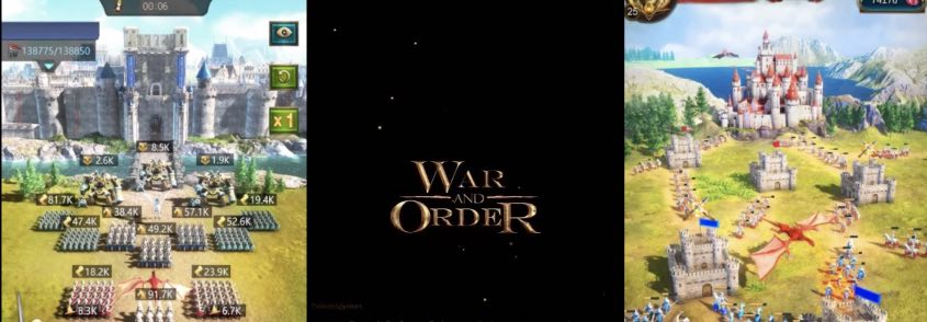 War and Order Chaos tips to repair