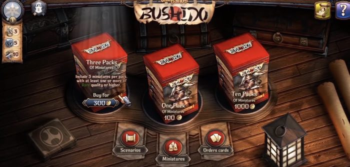 Warbands Bushido tips to repair