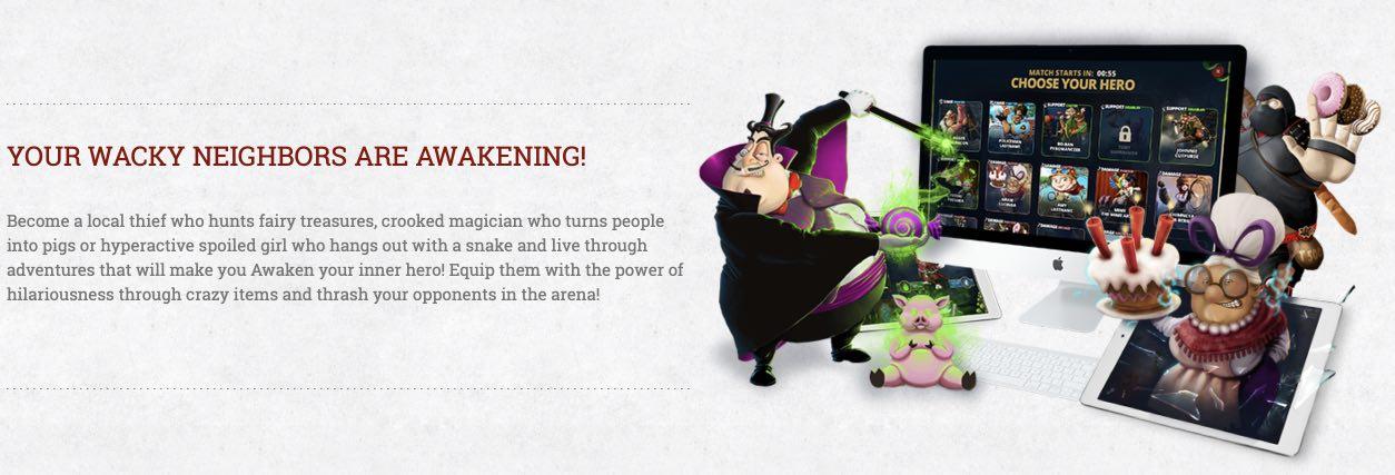 Awakening of Heroes hack month card