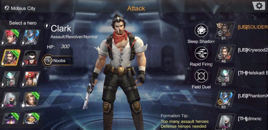 Call of Heroes tips to repair