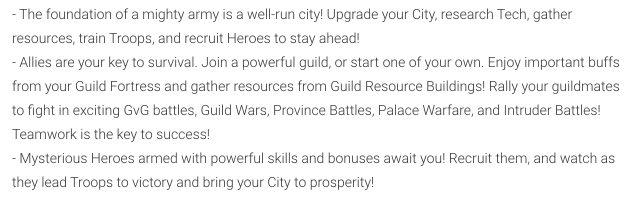 Conquerors 2 tips to repair