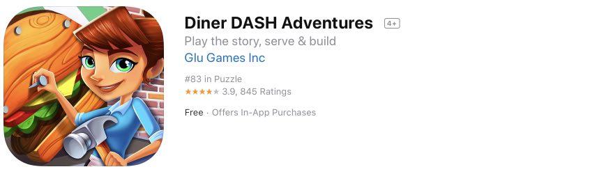 Diner DASH Adventures tutorial