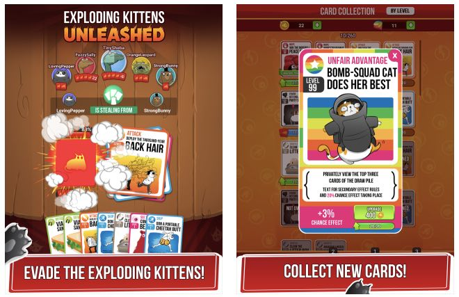 Exploding Kittens Unleashed hack