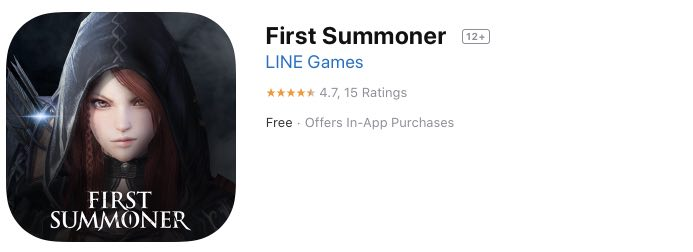 First Summoner tutorial