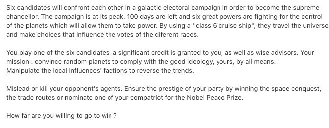 Galactic Campaign tips to repair