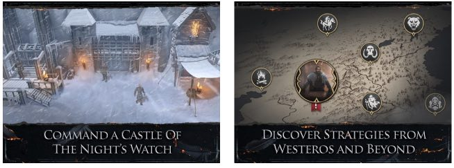 Game of Thrones Beyond the Wall hack month card