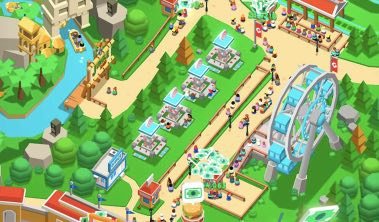 Idle Theme Park Tycoon hack upgrade