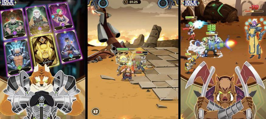 Idle Arena Battle of Heroes hack