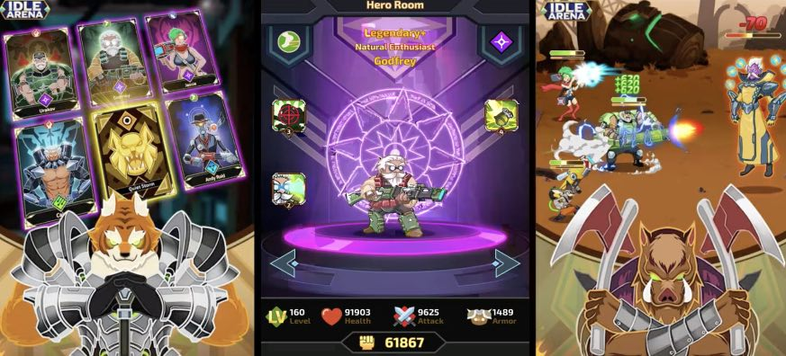 Idle Arena Battle of Heroes tips
