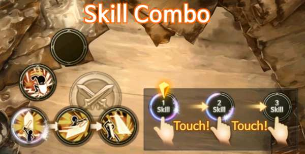 Discover: the lost prince  - skill combo