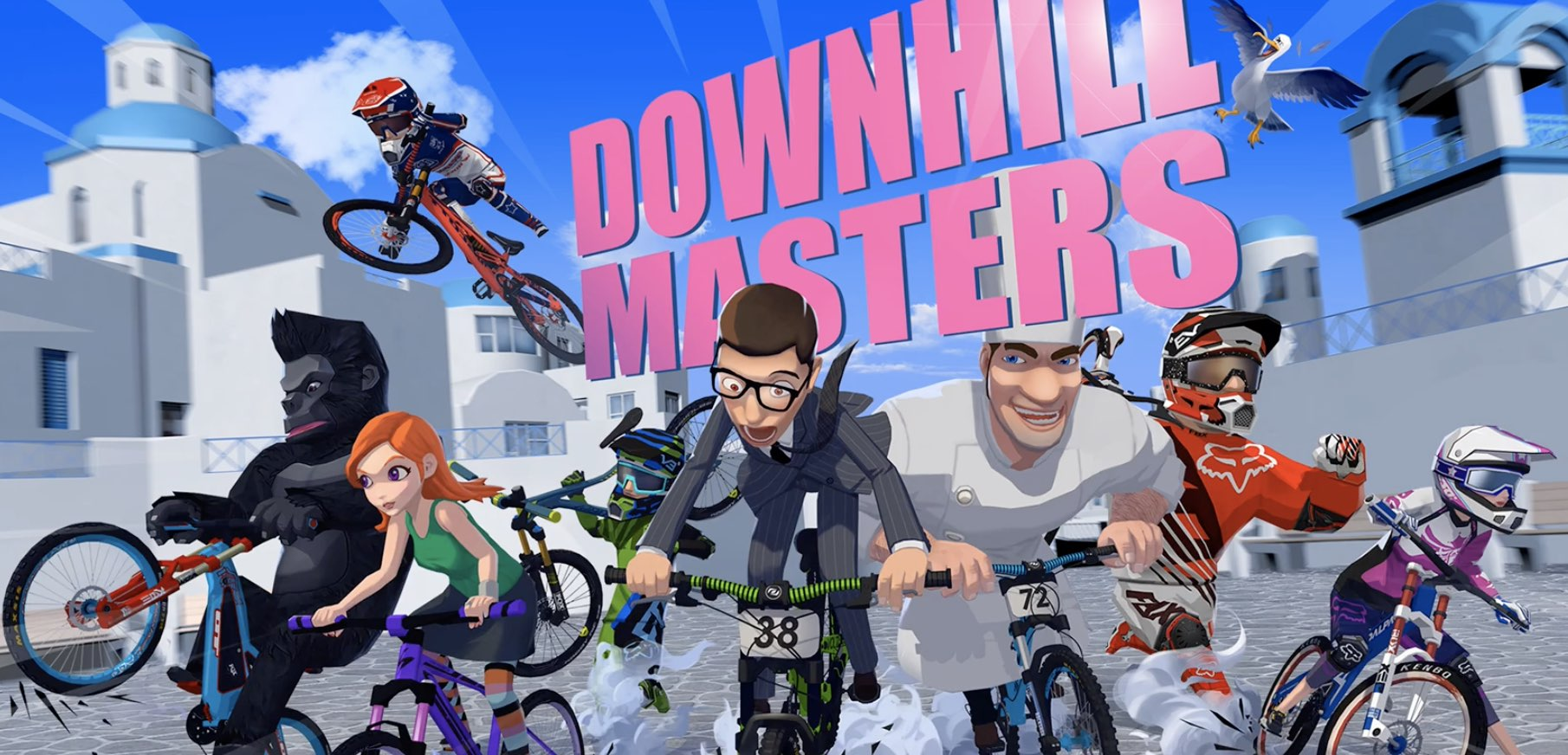 Downhill Masters hack