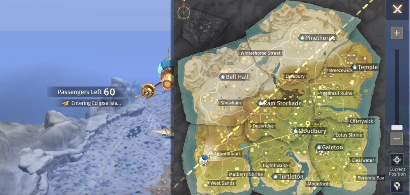 Eclipse Isle tips