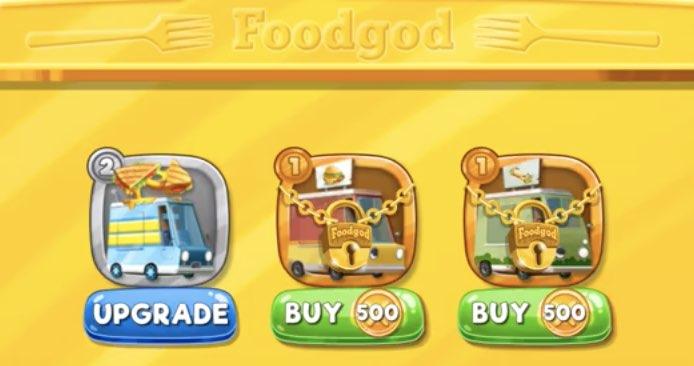 Foodgod's Food Truck Frenzy tips