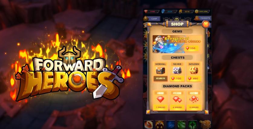 Forward Heroes hack tools