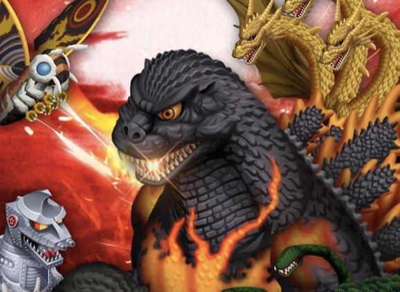 Godzilla Defense Force hack relics