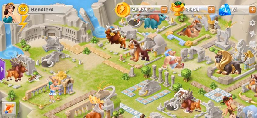Legends Of Olympus hack tools