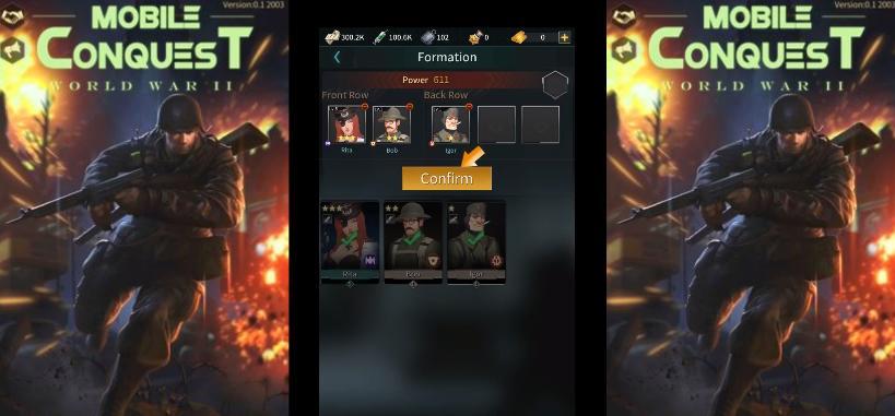 Mobile Conquest tutorial