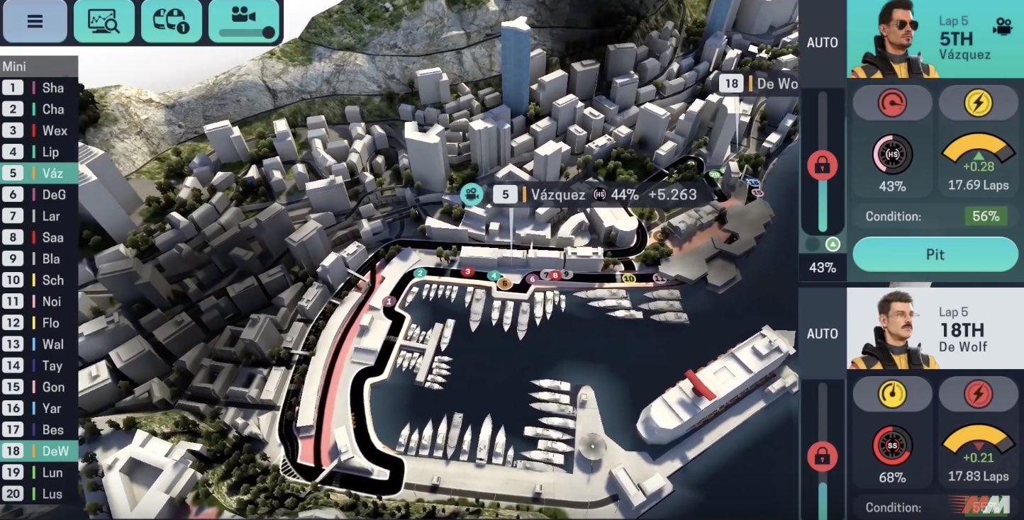 Motorsport Manager Online tutorial