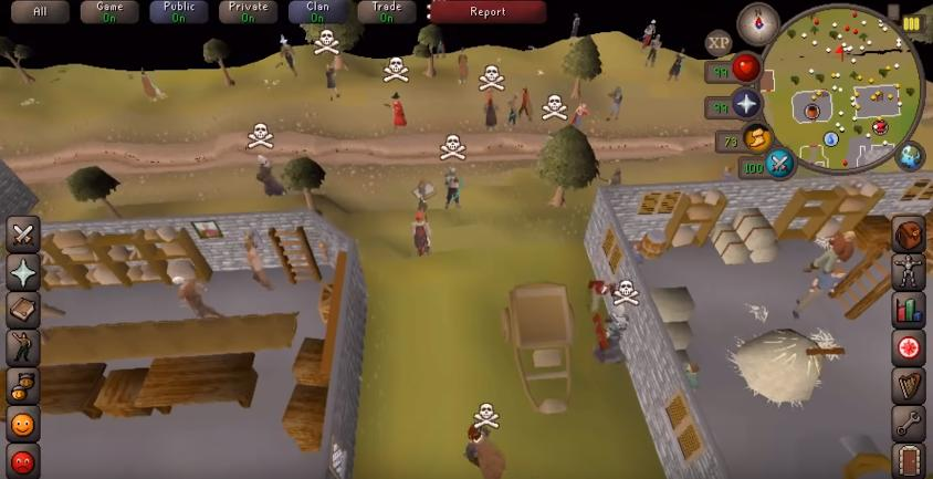 Old School RuneScape hacked