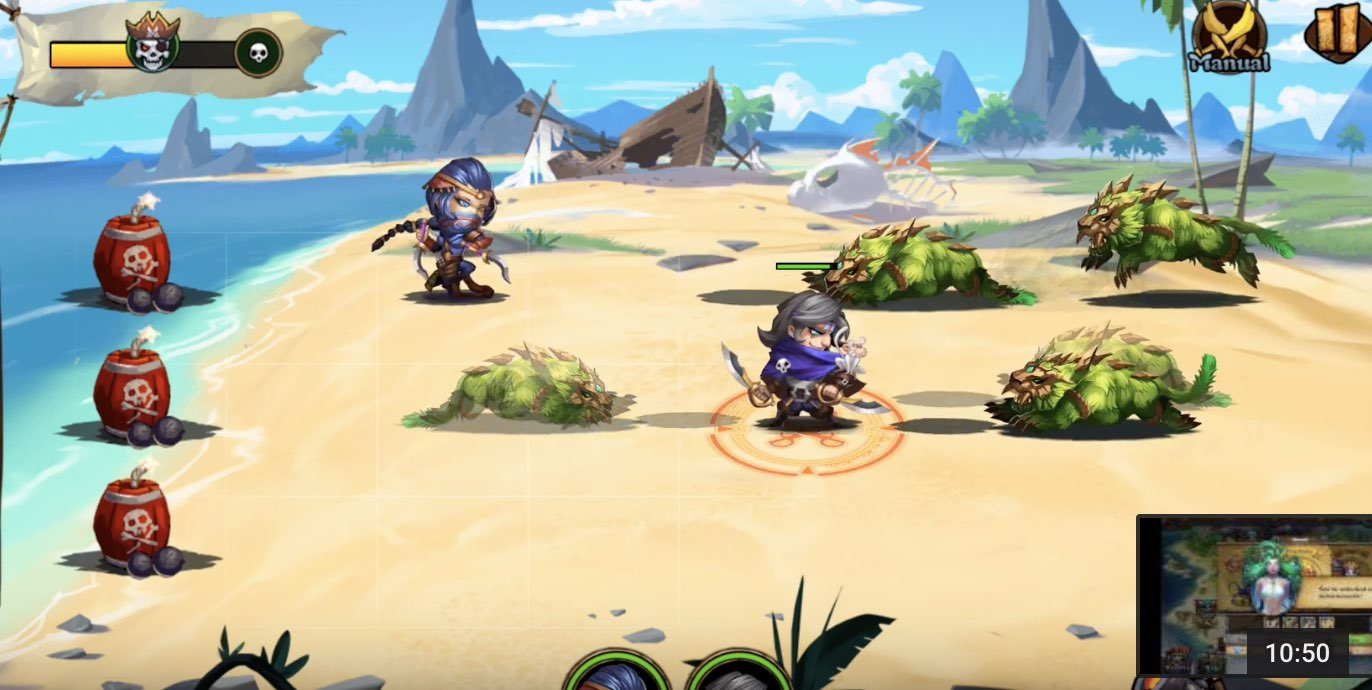 Pirate Heroes hack level up