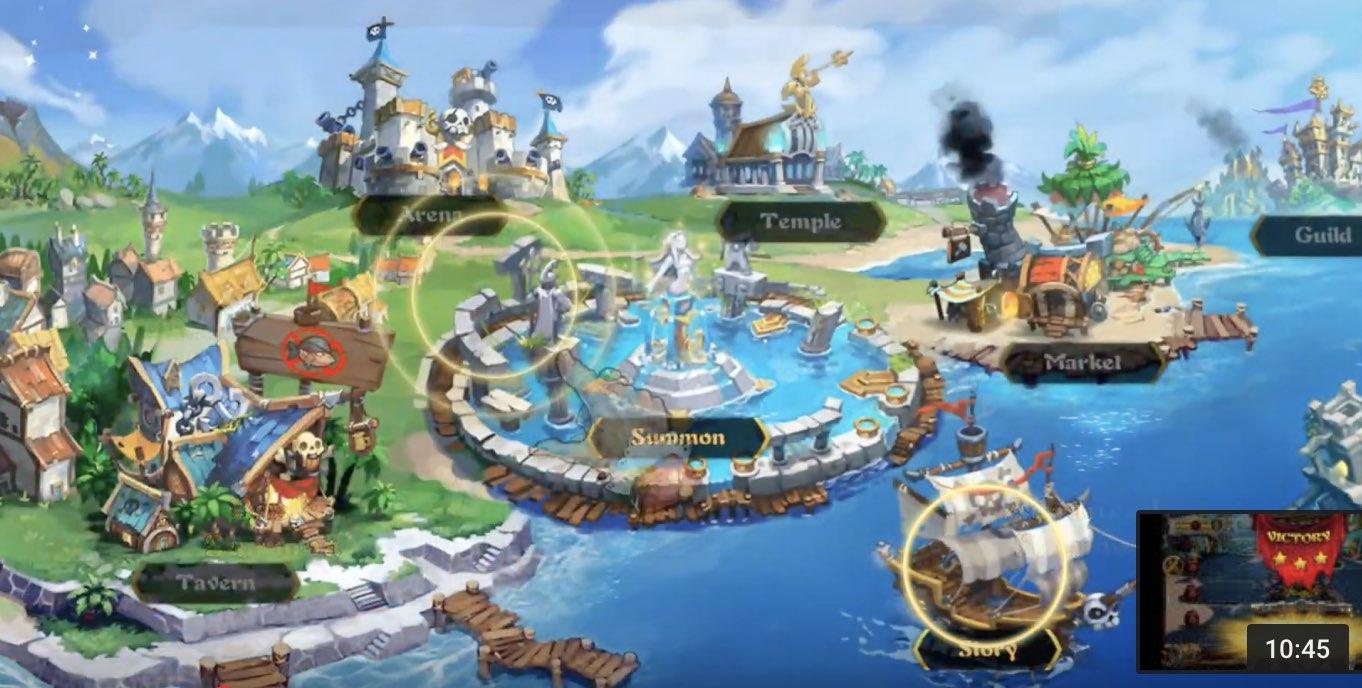 Pirate Heroes tutorial