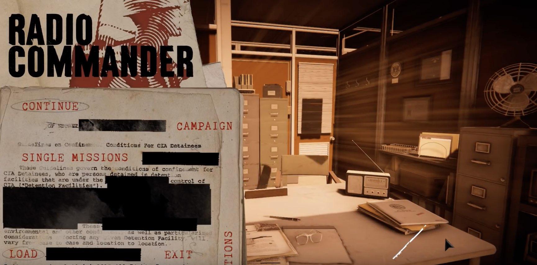 Radio Commander hack relics