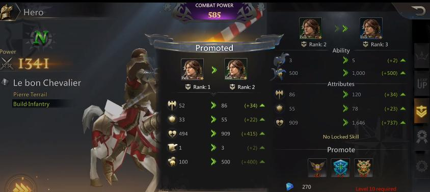 Rise of Honor tips