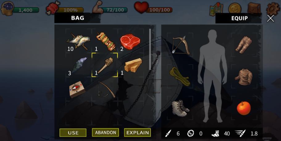 Survival & Escape Island tutorial