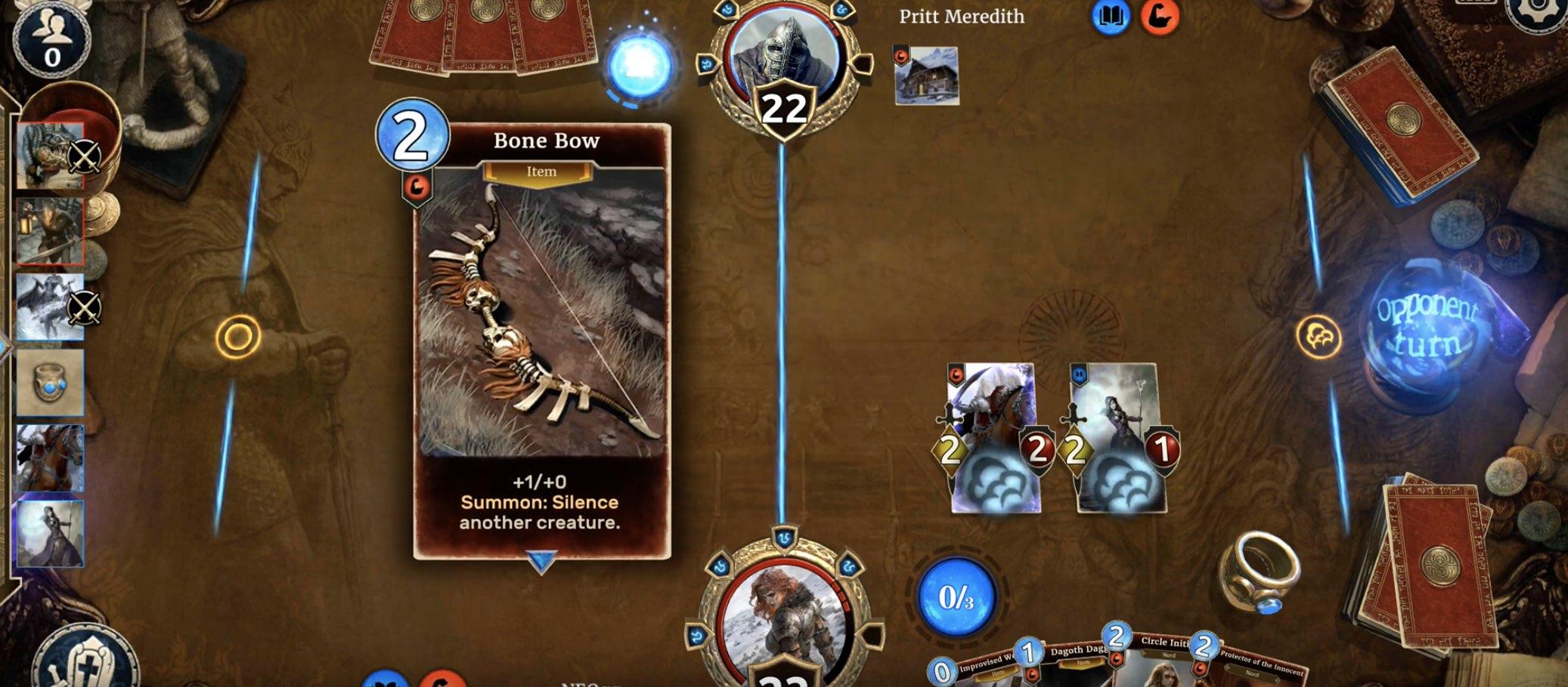 The Elder Scrolls Legends tutorial