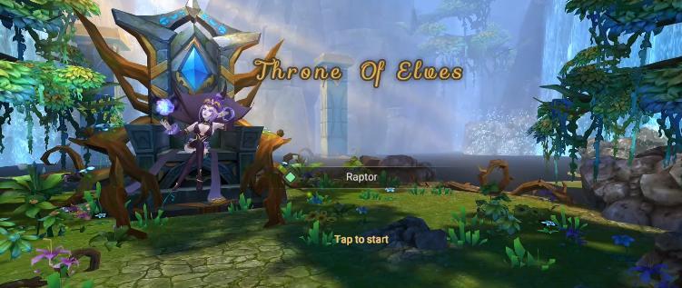 Throne of Elves tutorial