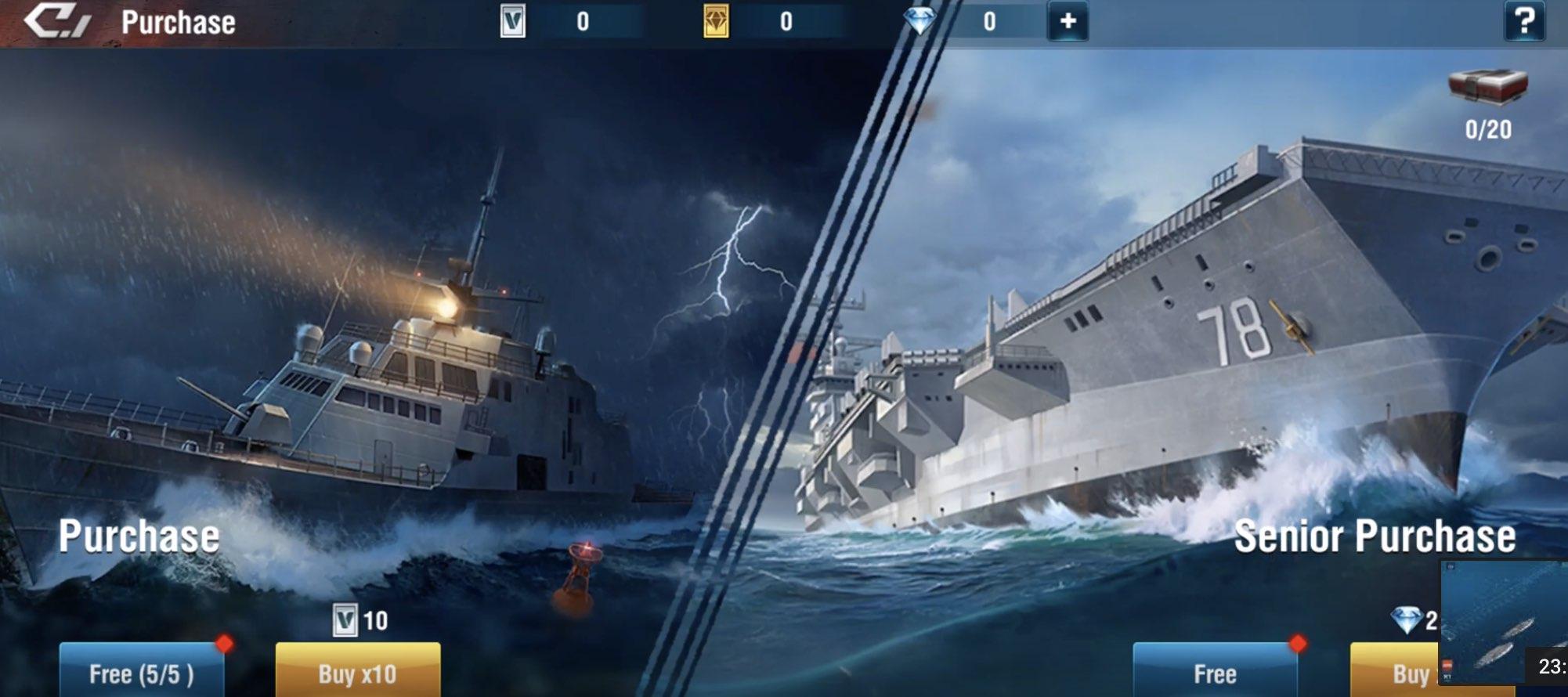 Warship Legend Idle tips