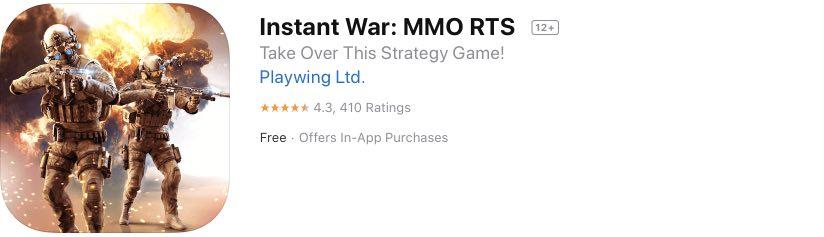 Instant War hack