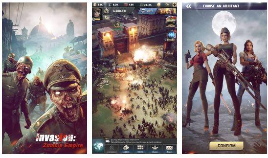 Invasion Zombie Empire hack