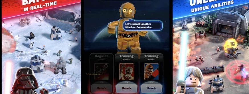 LEGO Star Wars Battles tutorial