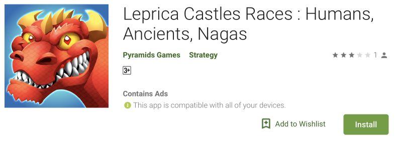 Leprica Castles Races tips to repair