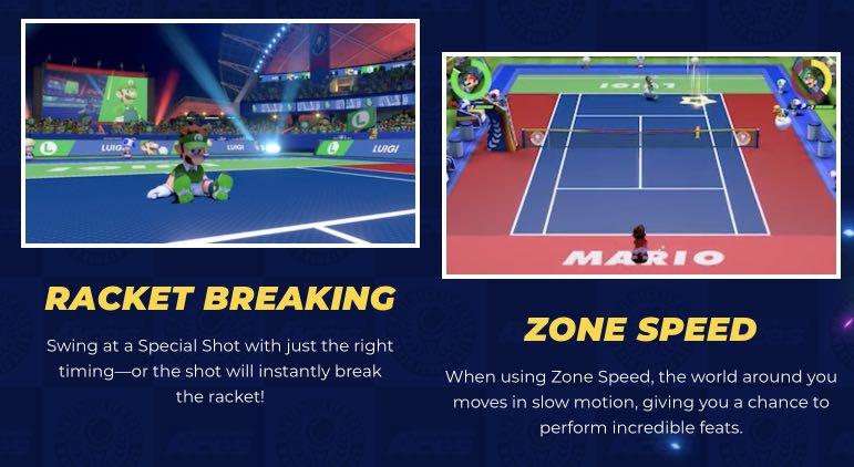 Mario Tennis Aces tips