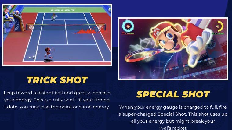 Mario Tennis Aces tutorial