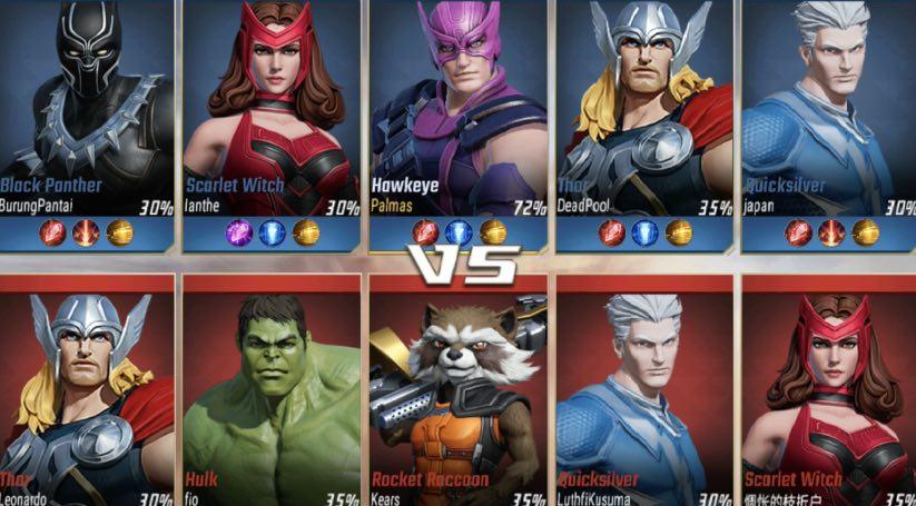 Marvel Super War tutorial
