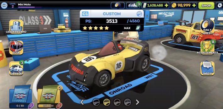 Mini Motor Racing 2 tips
