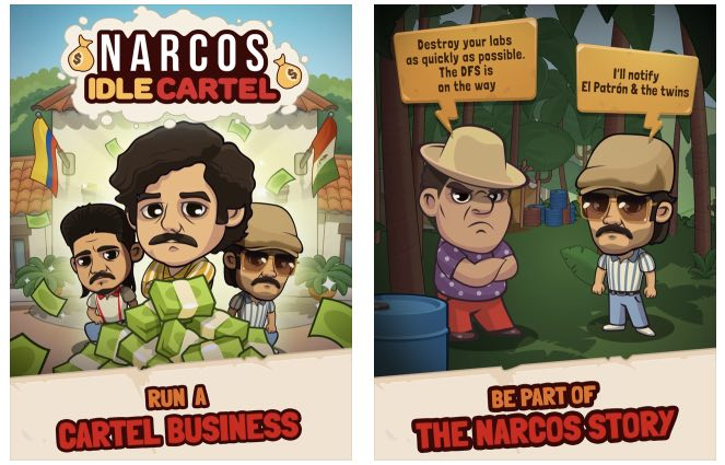 Narcos Idle Cartel hack