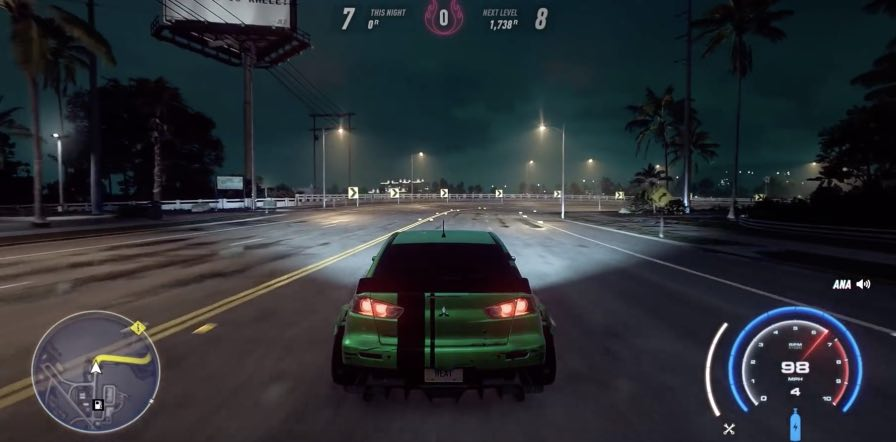Need for Speed Heat tips