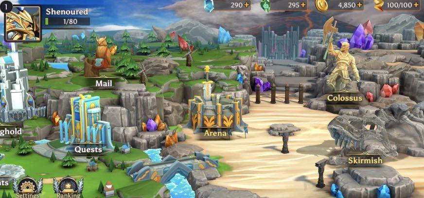 Paragon Kingdom Arena tutorial