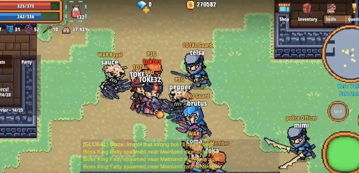 Pixel Knights Online 2D tips
