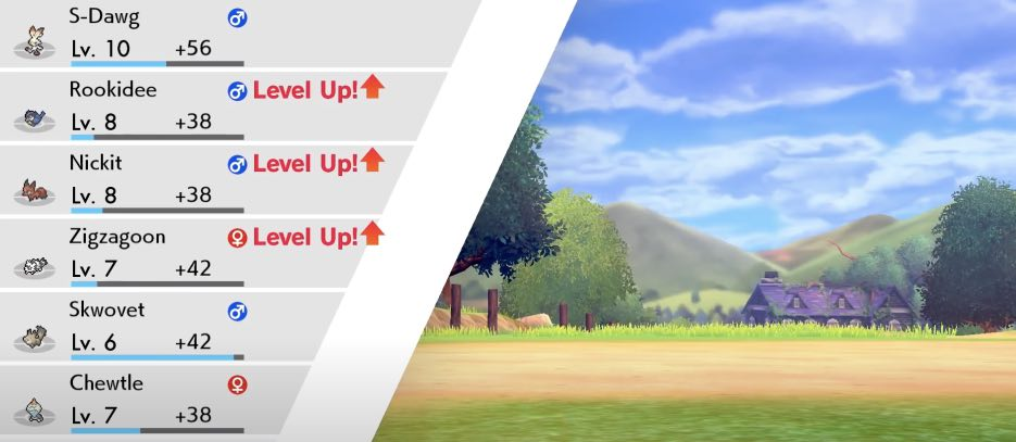 Pokemon Sword and Shield hack